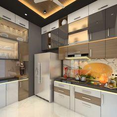 Kitchen design modern kitchen by square 4 design & build modern Kitchen Cupboard Designs, Kitchen Room Design, Home Room Design, Modern Kitchen Design, Dining Room Design, Kitchen Layout, Home Decor Kitchen, Interior Design Kitchen, Kitchen Modular