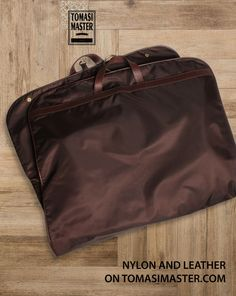 Nylon and #leather #garmentcover