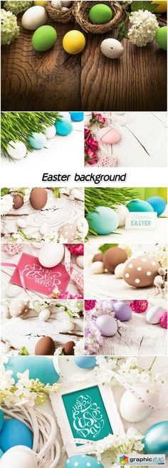 Easter background spring  stock images