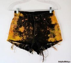 DISTRESSED High Waisted Denim Shorts:Frisky by DirtySouthVintage