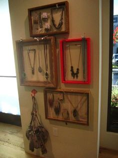 framing your jewelry
