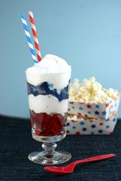 4th of july jello parfait recipes