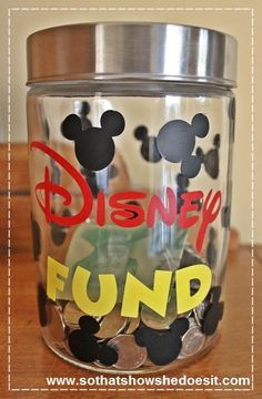 Disney Fund craft