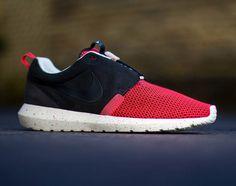 Nike Roshe Run NM Breeze – Black/Red