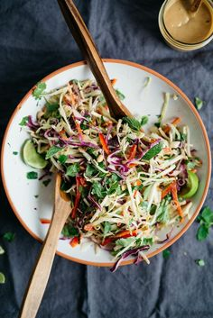 Thai Slaw | dolly and oatmeal