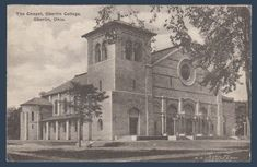 Postcards - United States #  925 - The Chapel at Oberlin College, Oberlin, Ohio