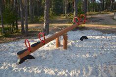 Huśtawka Wagowa Nature (4) Seesaw, Playground, Nature, Kids, Beautiful, Children Playground, Young Children, Naturaleza, Boys