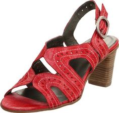 Fidji Womens G234 Slingback Sandal,Lib Red,39 EU/9 M US.  check discount today! click picture on top