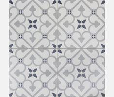porcelain flooring Brighton Grey Pattern Porcelain Floor Tile - Tiles from Tile Mountain Patterned Bathroom Tiles, Flooring, Tile Floor, Encaustic Tiles Floor, Porcelain Flooring, Patterned Floor Tiles, Patterned Wall Tiles, Art Deco Tiles, Tile Patterns