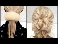 15 Bundles of rubber bands for hair. Fast Hairstyles, Braided Hairstyles, Wedding Hairstyles, Makeup Eye Looks, Simple Makeup Looks, Simple Prom Makeup, Short Hair Makeup, Hair Upstyles, Makeup Looks Tutorial
