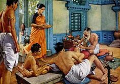 Sushruta is known as the father of surgery. Over 2,600 years ago, Sushruta along with his team conducted complicated surgeries like  cataract, artificial limbs, cesareans, fractures, urinary stones. He even conducted brain surgeries and plastic surgery. He and his team conducted more than 3,000 surgeries with help of more than 120 surgical tools.