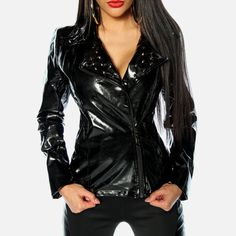 Bloody Home - Death Spikes Black - Jacket - Woman