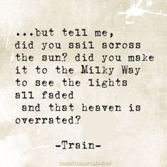 Train~ Drops Of Jupiter