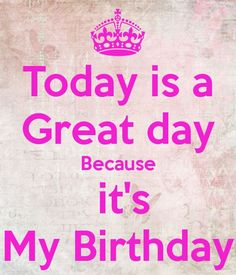 today is my birthday images samar mirza Birthday Wishes For Self, My Birthday Images, Happy Birthday To Me Quotes, Brother Birthday Quotes, Birthday Wishes Quotes, Happy Birthday Pictures, Happy Birthday Messages, My Birthday Status, Keep Calm My Birthday