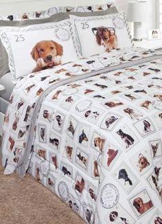 45937de413 Jogo de Cama Queen Dogs - Portal Lar   Lazer