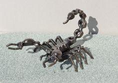SCORPION 5 inches - Scrap Metal Art