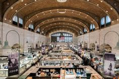 The Everygirl's Weekend City Guide to Cleveland, Ohio Downtown Cleveland, Cleveland Museum Of Art, Cincinnati, West Side Market, Outdoor Chandelier, Summer Bucket, Paris, Beautiful Buildings, Historic Homes
