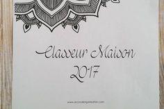 Le CLASSEUR MAISON 2017 à télécharger gratuitement est enfin disponible ! Cette année le thème est le mandala et les polices et couleurs sont plutôt sobres. Comme d'habitude, pour le téléchar…