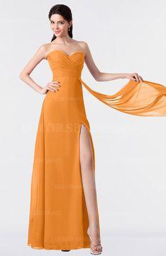 0e57794ffdc ColsBM Vivian - Orange Bridesmaid Dresses