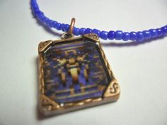 Chrono Trigger video game pendant Kingdom of by ReturnersHideout, $12.50