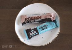 Gluten-free raw & paleo bars from ALDI