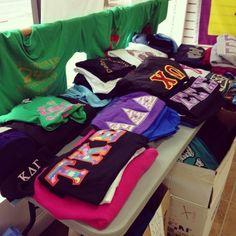 #Sorority #Clothing #Sidewalk #Sale