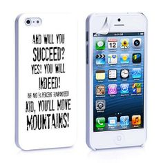 Dr Seuss Inspirational Quote iPhone 4, 4S, 5, 5C, 5S Samsung Galaxy S2 – iCasesStore