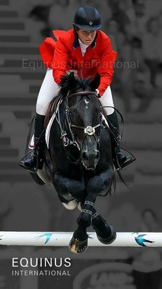 Beezie Madden and Cortes C  pretty cool how he crosses his fore legs. my pony does this when she jumps high. which is all the time cuz she loves jumping