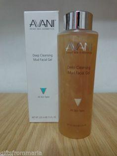 Facial Gel for All skin Types by Avani Dead Sea Cosmetics Deep Cleansing Mud Beautifuls.com Members VIP Fashion Club 40-80% Off Luxury Fashion Brands