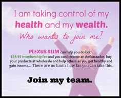 PLEXUS SLIM PRODUCTS #1 Overall Health & Weight Loss Product ...
