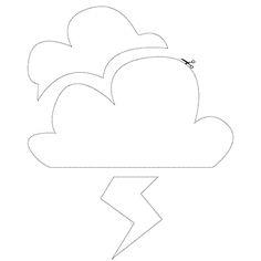 Cloud and lightning / Nuage et éclair