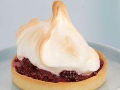 Tarta de moras y merengue - Anna Olson