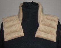 Neck Shoulder Heat Wrap Neck Warmer, Rice Heating Pad, Microwave Heating Pad