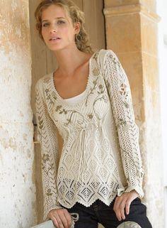 craft for summer: lace sweater | make handmade, crochet, craft