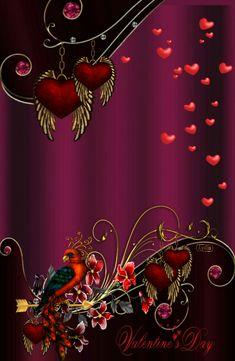 By Artist Unknown. Flower Phone Wallpaper, Phone Screen Wallpaper, Wallpaper For Your Phone, Purple Wallpaper, Butterfly Wallpaper, Heart Wallpaper, Love Wallpaper, Colorful Wallpaper, Cellphone Wallpaper