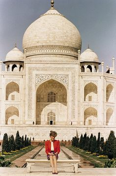The Prince and Princess of Wales' trip was said to reveal cracks in the couple's marriage after Diana was photographed famously visiting the Taj Mahal alone in 1992