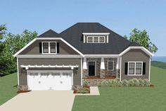 House Plan 6849-00041 - Craftsman Plan: 2,207 Square Feet, 3 Bedrooms, 2 Bathrooms