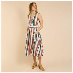 Poetry Skyla Stripe Dress