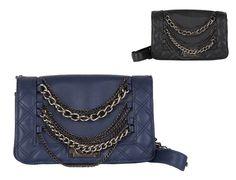 Ladies Chain Synthetic Leather Shoulder Bag Handbags Purses Luxury Vintage  b0342  Unbranded  ShoulderBag Canvas 24434c3659838
