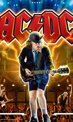 AC-DC #angusyoung
