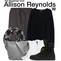Inspired by Ally Sheedy as Allison Reynolds in 1985's The Breakfast Club.