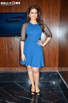 Beautiful Bollywood Actress, Beautiful Indian Actress, Beautiful Actresses, Frock Dress, Dress Skirt, Huma Qureshi Hot, New Saree Blouse Designs, Short Dresses, Dresses For Work