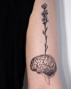 Brain cancer tattoo