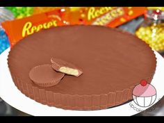 How can something SO WRONG, look so good!!!!!!!! GIANT Reeses Peanut Butter Cup! This thing is HUGE, NO BAKE