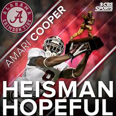 AMARI COOPER .... HEISMAN HOPEFUL