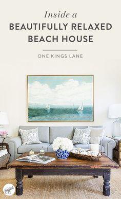 Take A Tour Of Interior Designer Matthew Caughyu0027s Beautifully Relaxed Beach  Home Here! Coastal Living