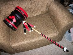 harley quinn and joker weapons - Google Search