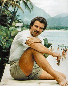 Tom Selleck as Magnum PI I loved  that show !
