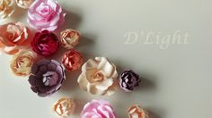 Paper Flowers, Stud Earrings, Jewelry, Jewlery, Jewerly, Stud Earring, Schmuck, Jewels, Jewelery