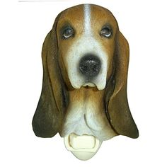 Basset Hound Night Light – NATURE'S WINDOW Quality home decor products that appeal to pet, outdoor, and wildlife enthusiasts. Gifts For Pet Lovers, Basset Hound, Beautiful Gifts, Night Lights, Handmade Shop, Go Shopping, Wildlife, Window, Outdoors
